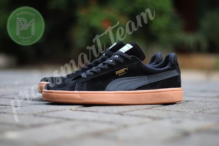 Jual Sepatu casual sneakers PUMA SUEDE black gum best seller Jakarta Pusat chat me shop   Tokopedia