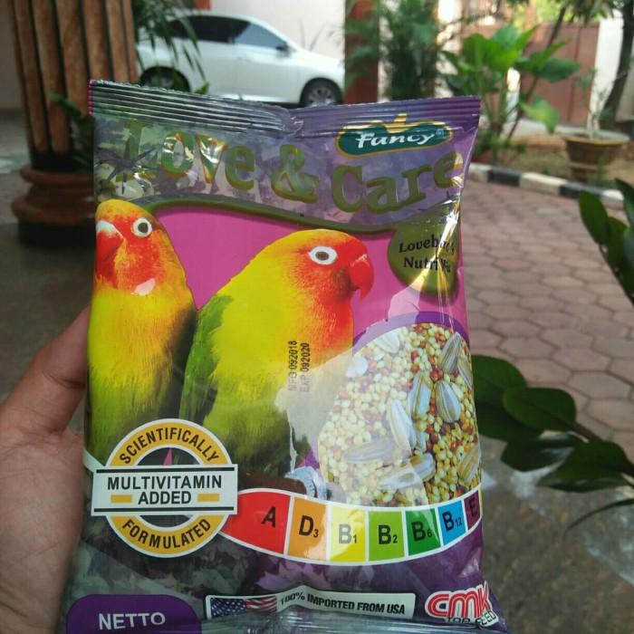 Jual Makanan Burung Lovebird Fancy Love And Care Kota Bekasi