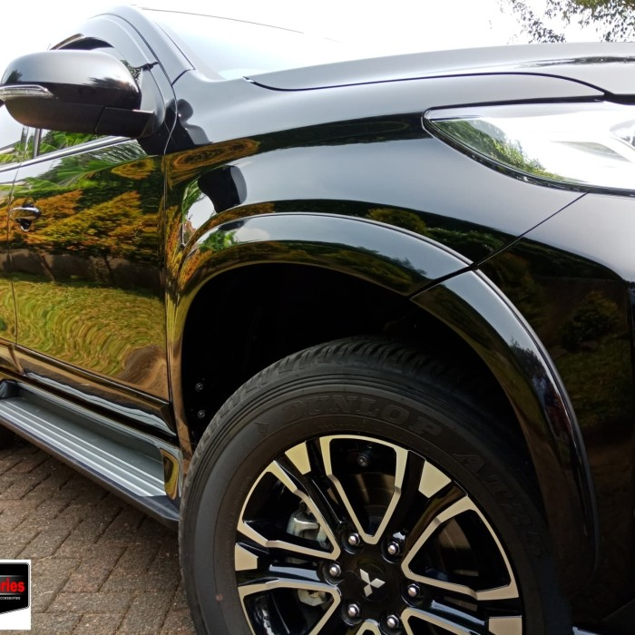 All New Pajero Sport: Jual Bodykit Over Fender All New Pajero Sport