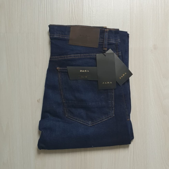 harga Celana jeans slim fit zara man authentic not hnm levis bape pedro Tokopedia.com