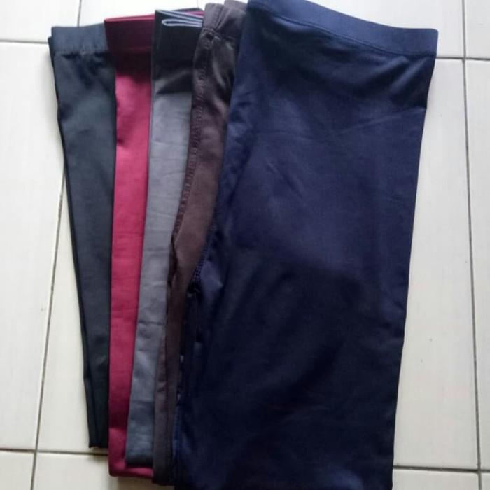 Jual Celana Legging Wanita Jersey Licin Celana Leging Wanita Licin Kota Depok Toko Laris 70k Tokopedia