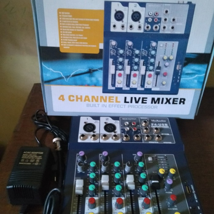 harga Mixer audio 4 chanel mc audio f4 Tokopedia.com