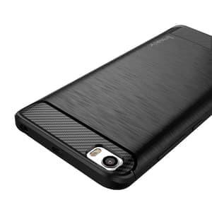 nyuz Case Ipaky Carbon Fiber Xiaomi Redmi 4X Softcase Shockproof TPU