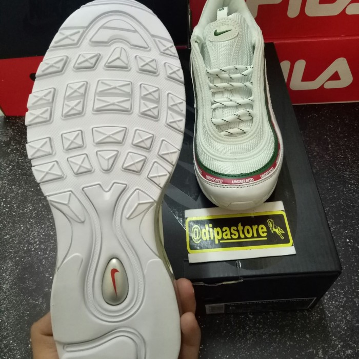 Jual Nike Undefeated x Air Max 97 OG White BNIB PERFECT QUALITY DKI Jakarta DIPASTORE2 | Tokopedia