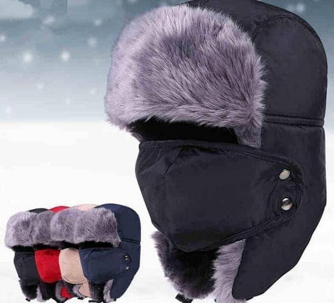 Daftar Harga Topi Rusia Ushanka Import Masker Winter Terbaru 2018 ... eca155ab91