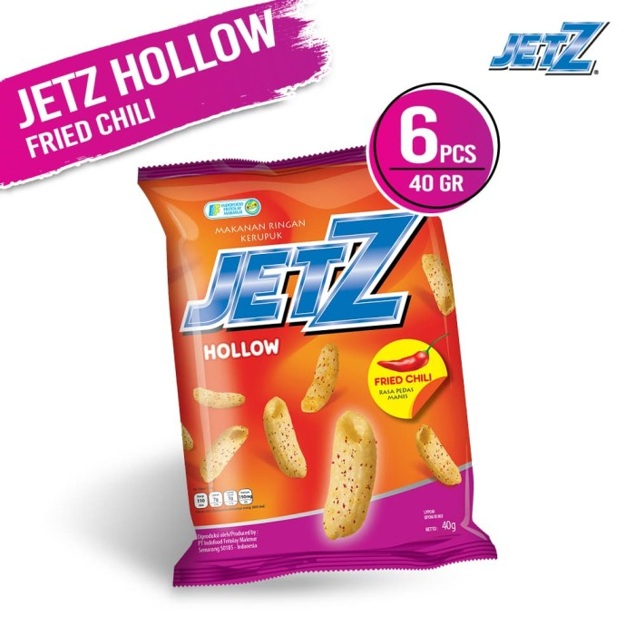 JetZ Hollow Fried Chili 40 Gr - 6 Pcs [FS]