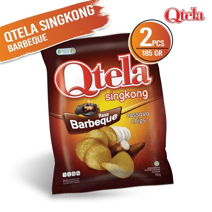 Qtela Singkong Barbeque 185 Gr - 2 Pcs FS