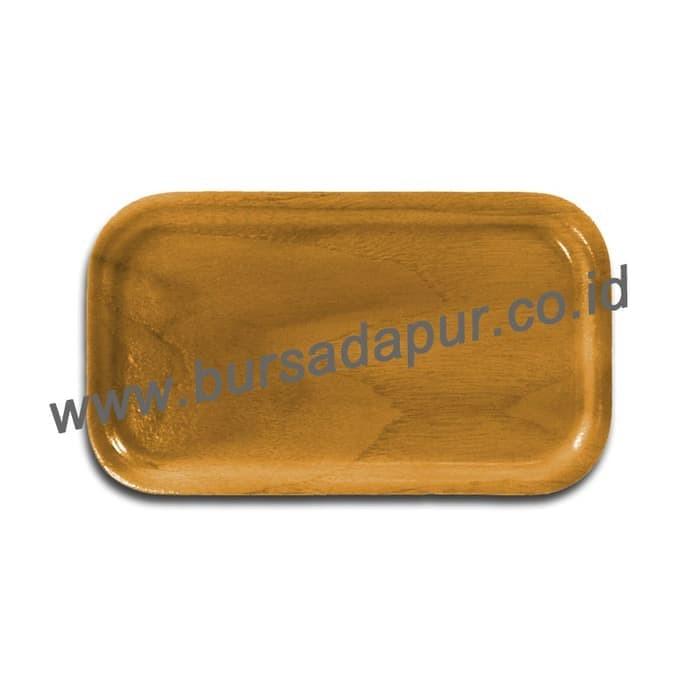 Bursa Dapur nampan/ Baki Kayu Segi 23 X 12cm