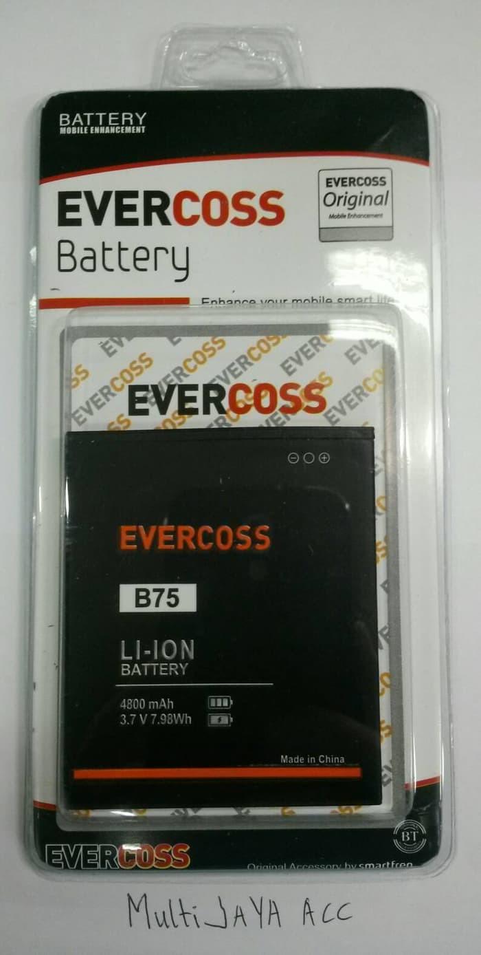 Evercoss Winner Y3 B75a 8gb Hitam Daftar Harga Terbaru Dan Gold High Quality Baterai B75 Original Batre Battery