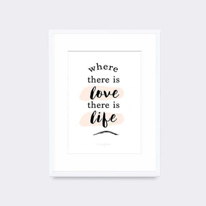 harga Chic & darling where there is love artprint Tokopedia.com