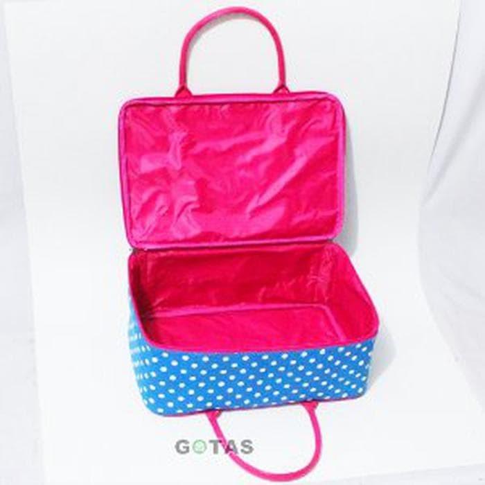 Tas Travel Bag Koper Kanvas Karakter My Little Pony Bir Limited