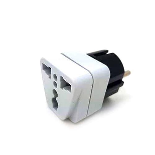Adaptor mini simpel bahan berkualitas dan kuat garansi termurah - Putih