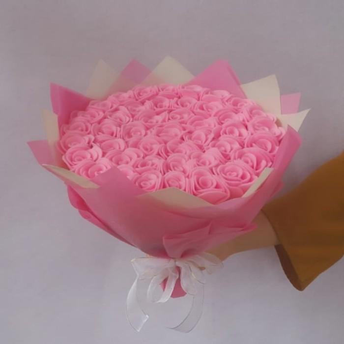 Jual Buket Bunga Flanel Kado Wisuda Anniversary Wedding Ulangtahun Kota Bandar Lampung Deux Flower Tokopedia