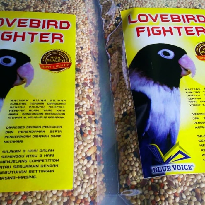 Pakan lovebird fighter love bird lomba gacor ...