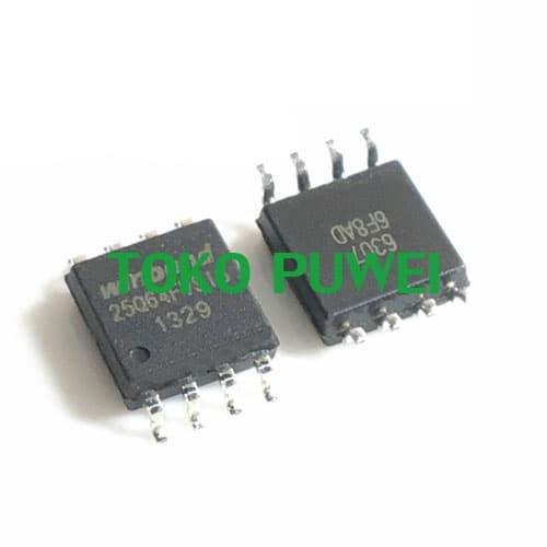 Foto Produk Winbond W25Q64 W25Q64BVSIG W25Q64JVSIQ Replace W25Q64FVSIG BE32 dari toko puwei
