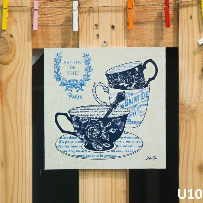 harga Walldecor woodensign shabbychic teacup poselen Tokopedia.com
