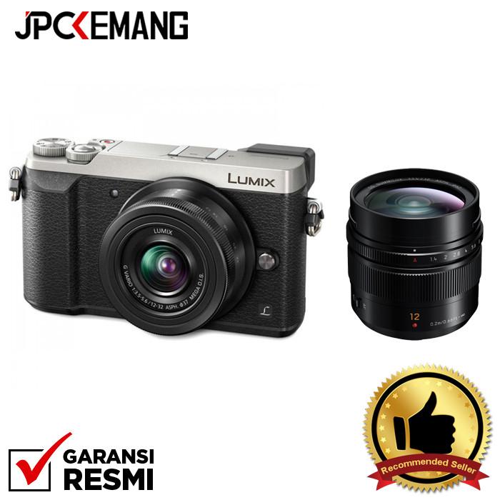 harga Panasonic lumix dmc-gx85 kit 12-32mm + 12mm f/1.4 leica garansi resmi - perak Tokopedia.com