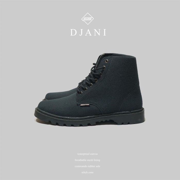 Foto Produk DJANI BLACK BOOTS dari Routes Shoes