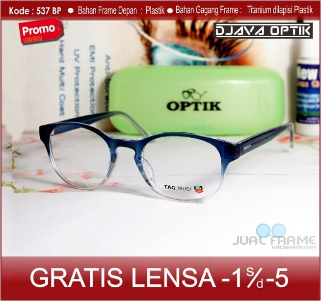 Jual Kacamata Bulat 537 Lensa Minus Plus Antiradiasi Wanita Pria ... 3cfba63f92