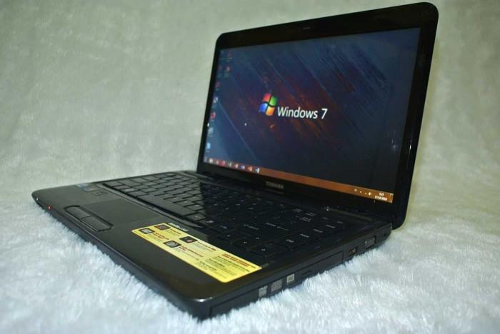 Laptop Bekas Toshiba L645 Core I3 Sangat Mulus Terawat Minim Pemakaian