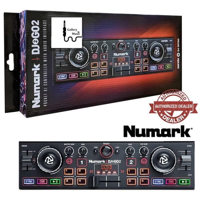harga Numark dj2go2 pocket dj controller with audio interface Tokopedia.com