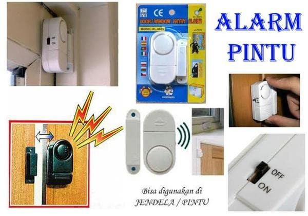 Harga Jual Alarm Untuk Pintu Atau Jendela Rumah Alaram Anti Maling Source · Alarm Rumah Canggih Anti Maling Alarm System Wireless Cocok Untuk Di