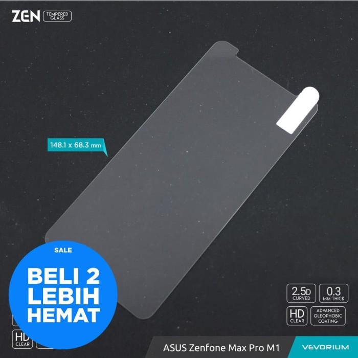 Foto Produk VEVORIUM ZEN 2.5D Clear Asus Zenfone Max Pro M1 ZB602KL Tempered Glass - BENING dari Vevorium