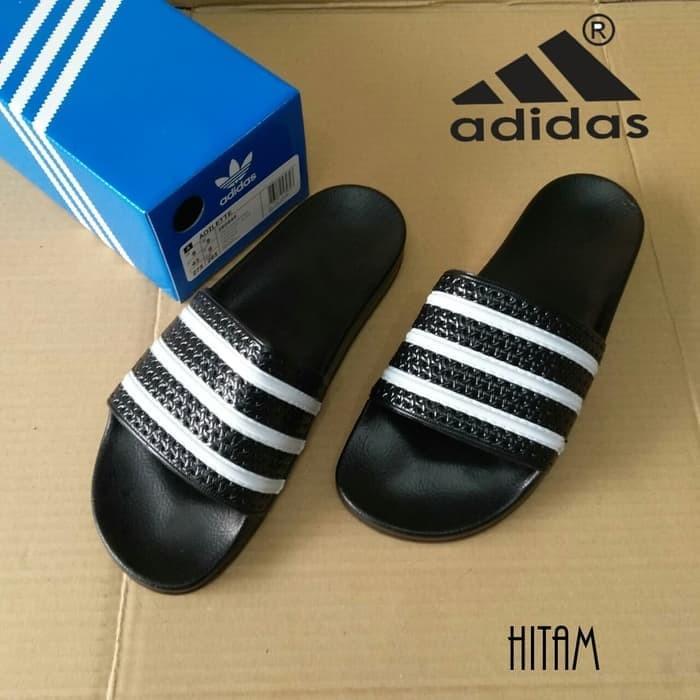 Original De9w2yih Sandal Sendal Jual Stripes Adilette Adidas XikZuPO