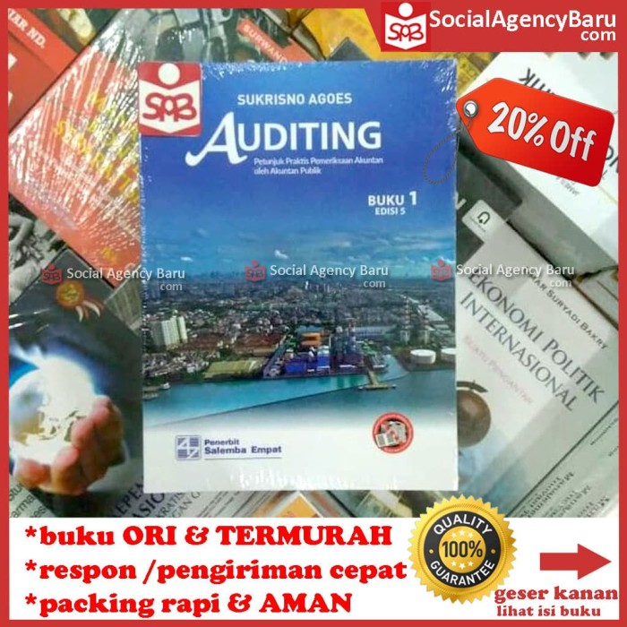 harga Auditing buku 1 edisi 5 - sukrisno agoes Tokopedia.com