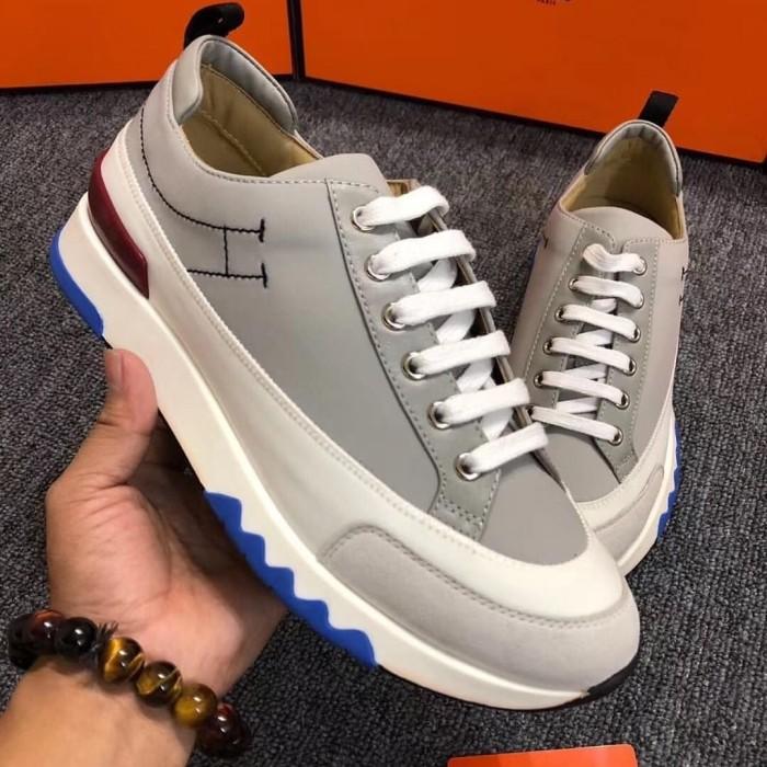 jual sepatu branded pria cowok hermes sneaker Authentic quality kw vip