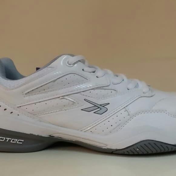 Jual Sepatu Tennis   Badminton Spotec Nelson putih abu pria wanita ... 48a82667fb