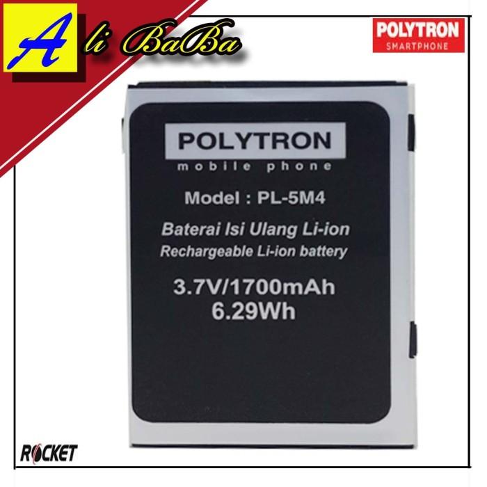 harga Baterai handphone polytron rocket r1 r2403 pl-5m4 batre hp polytron Tokopedia.com