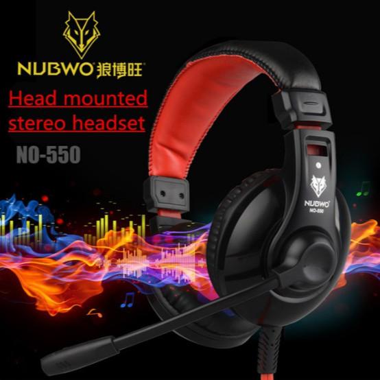 harga Nubwo headphone gaming no 550 - garansi 1 tahun !! Tokopedia.com