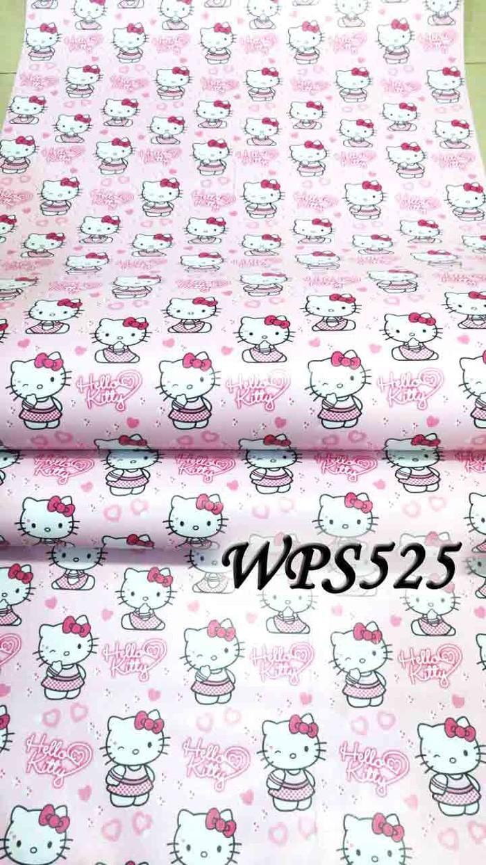 Jual Wallpaper Sticker 45cmx5m Wps525 Hello Kitty Love Faiha