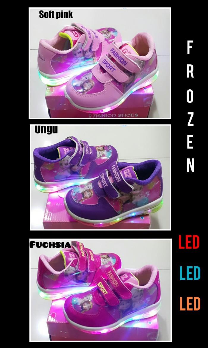 Info Harga Sepatu Anak Perempuan FROZEN LED Di Jakarta - Hondahatjxjrt e204508e24