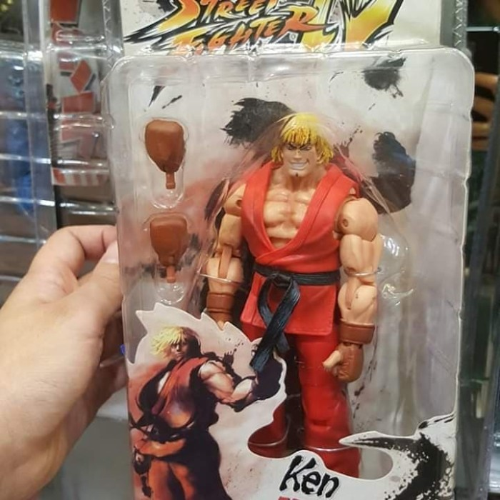 Jual Mainan Action Figure Ken Street Fighter By Neca Tinggi Murah
