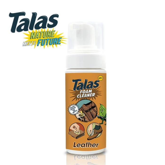 Talas (Leather) Foam Cleaner - Pembersih - Blanja.com