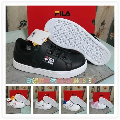 Jual Sepatu Sneakers Casual Anak Model Fila x chupa chups Edition ... c2d52219b7