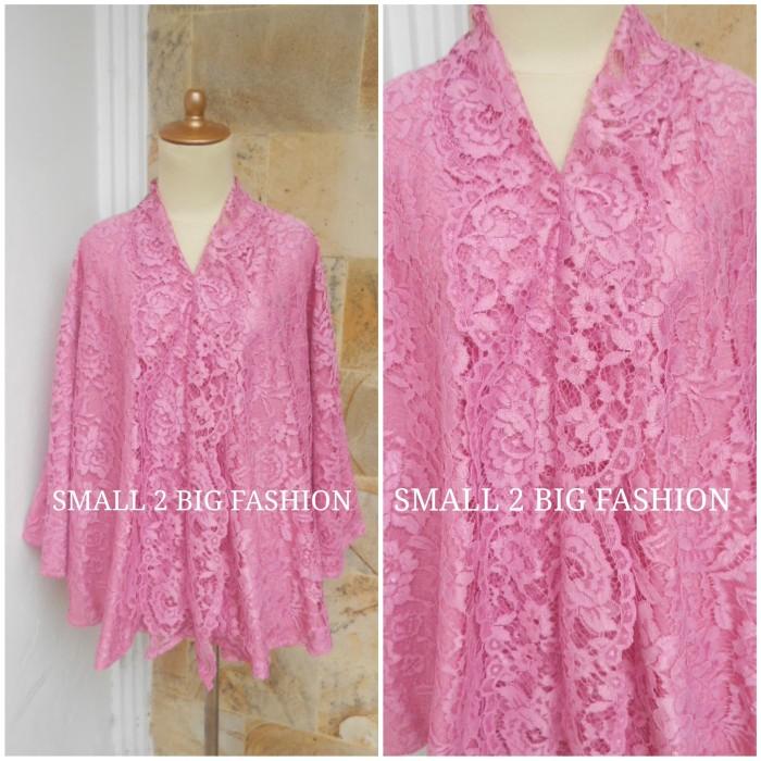 Foto Produk Kebaya jumbo 3L 4l 4L 6L 7L 8L / blouse brokat jumbo / blus besar big dari Small 2 Big Fashion