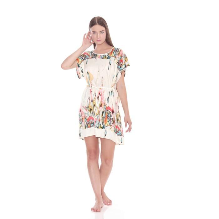 harga Cynthia baju tidur dress motif sablon bagian atas dan bawah - putih all size Tokopedia.com
