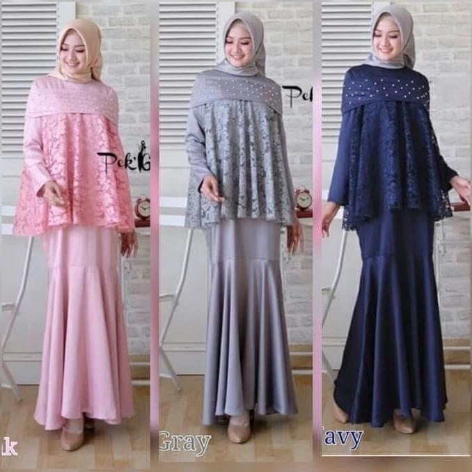 Jual Fashion Muslim Berkualitas Gamis Syari Terbaru Model Duyung