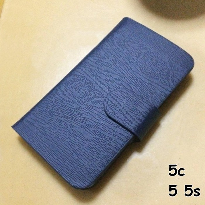 FOR IPHONE 5C 5 C, 5 5s - FLIP STAND WALLET CASE COVER SOFT LEATHER