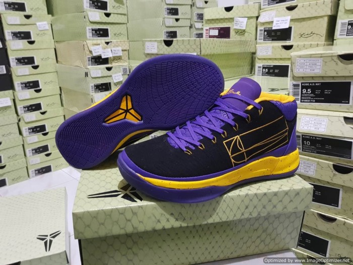 Jual Sepatu Basket Nike Kobe A D Mid Lakers Kota Batam Yongdesport Tokopedia
