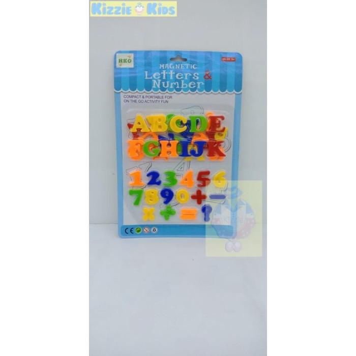 HKO Magnetic Letters & Numbers Murah