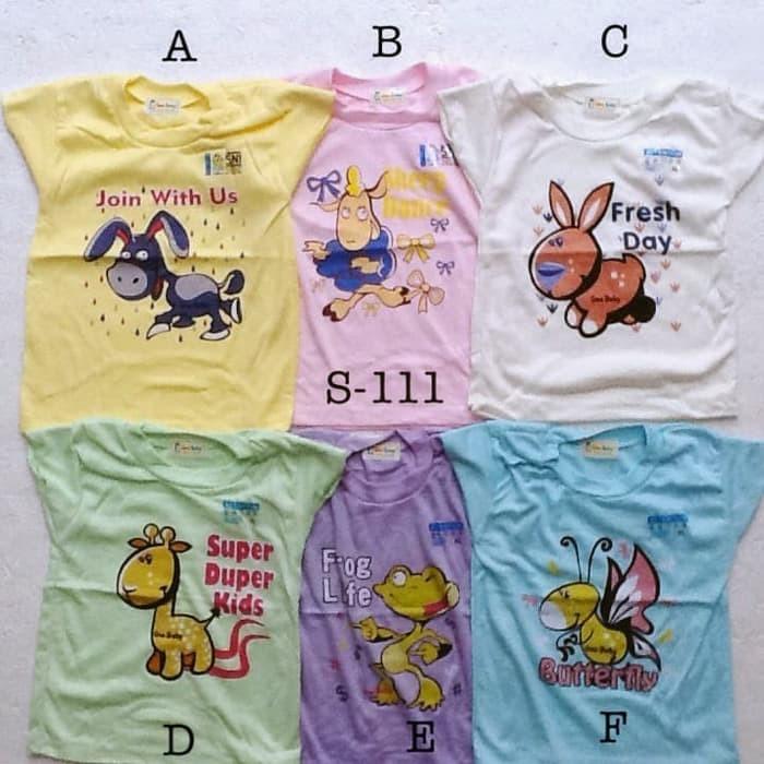Foto Produk baju harian atasan kaos santai murah size XL anak bayi unisex dari lagar jaya