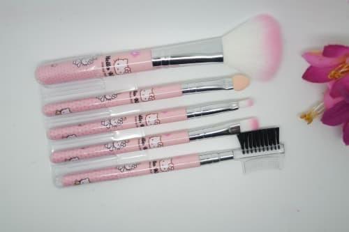 dfd7a34f8 Jual (Set Makeup Brush) (POUCH) Kuas Set Hello Kitty Isi 5 - Kota ...