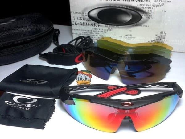 Jual kacamata oakley magnum white ducati 6 lensa   kacamata sepeda ... a2590f722d