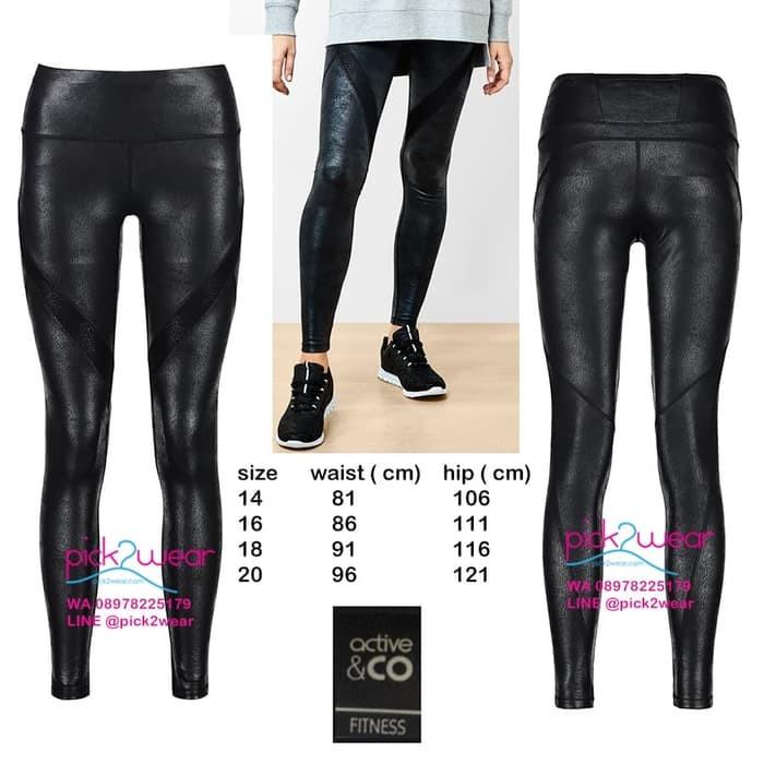 Jual Celana Legging Sport Legging Yoga Faux Leather Big Size Hitam Xxl Kab Bandung Toko Fashion Sport Tokopedia
