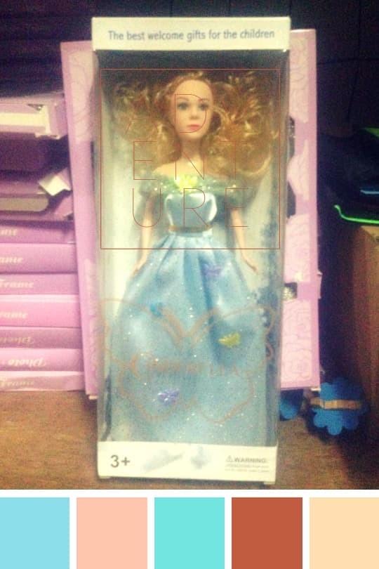 Jual Pusat Boneka Barbie Termurah Dan Lucu Dress Biru Jakarta Pusat Agen Boneka Cinderella Tokopedia
