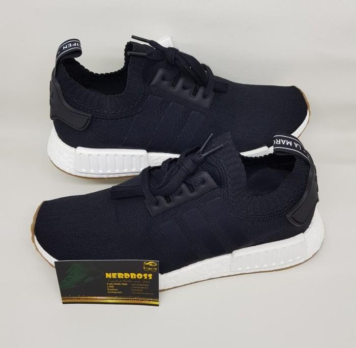 Jual Adidas NMD R1 PK Gum Black BNIB 100% AUTHENTIC ORIGINAL harga Idiot! Kota Palembang Kevin Winata | Tokopedia